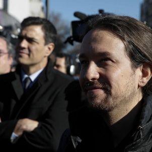 Pablo Iglesias-Unidos Podemos-Pedro Sánchez-Psoe-efe