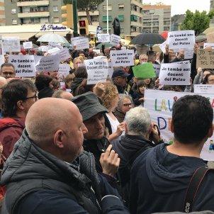 Manifestació Sant Andreu Barca professors / @9delpalau