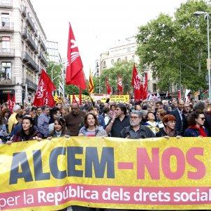 Manifestació Alcem nos ACN