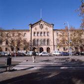 Façana de la Universitat de Barcelona. Jesús Corrius
