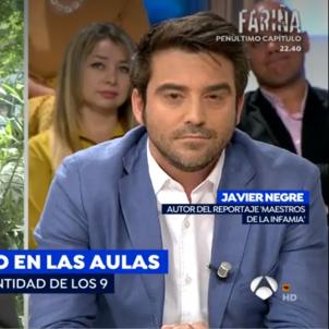 Javier Negre professor de El Palau Antena 3