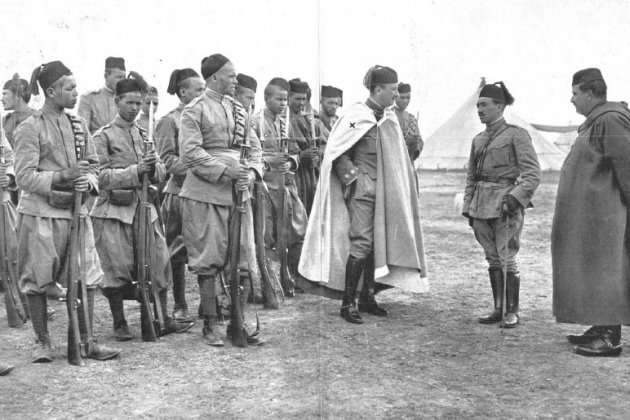 Coronel Berenguer y regulares 1913 José Demaría wikipedia