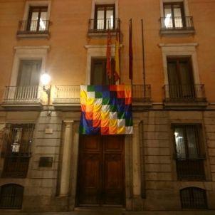 bandera indigena Madrid