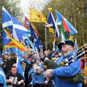 Manifestació independència Escòcia EFE