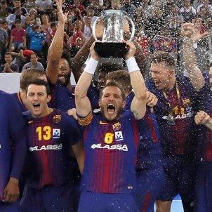Barça Handbol Victor Tomas EFE