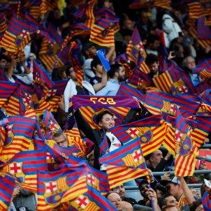 Barça banderes madrid camp nou   EFE