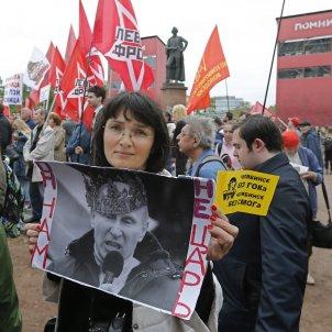 Manifestació a Rússia contra Vladimir Putin / Efe
