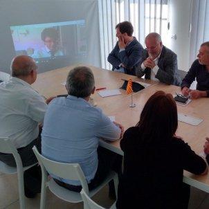 paluzie consellers exili reunió Puigdemont @catalan_gov