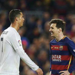 Barça Madrid Leo Messi Cristiano Ronaldo EFE