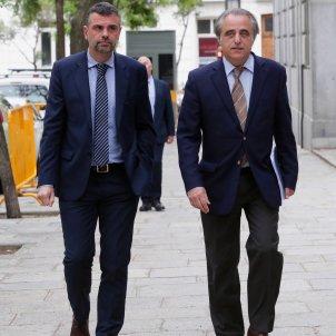 Santi Vila al Suprem - EFE