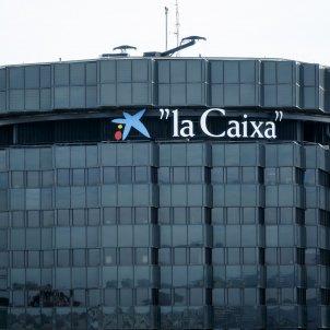 Edifici seu La Caixa Caixabank Economia - Sergi AlcAzar