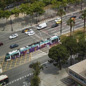 Tramvia transport public Diagonal Barcelona - Sergi Alcàzar