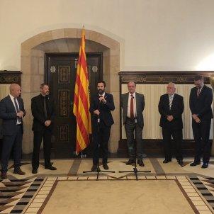 Acte roger torrent cos consular Barcelona / NT