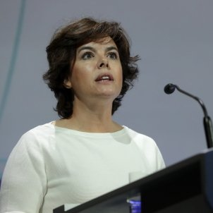 Soraya Sáenz de Santamaría efe
