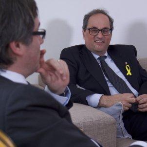 President Puigdemont i Quim Torra - ignasi guerrero