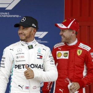 Lewis Hamilton Sebastian Vettel Formula 1 Barcelona   EFE