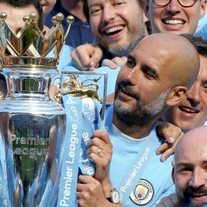 Pep Guardiola Copa Premier League Manchester City Efe