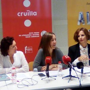 Maite Carranza Anna Manso Premis literatura juvenil Cruïlla