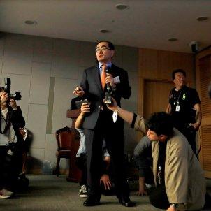Exdiplomatico norcoreano rueda de prensa EFE