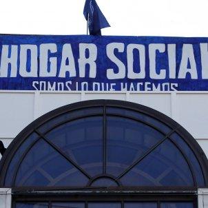 Hogar Social Madrid desnonament - EFE