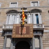 Façana Palau de la Generalitat presa de possessió / SA