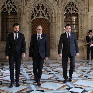 Quim Torra President Torrent Victor Cullell Presa de possessio - Efe
