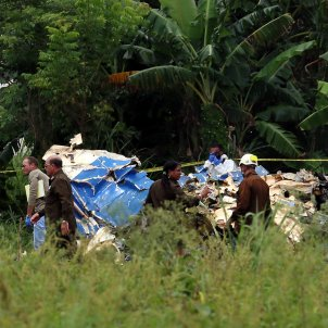 Accident avió Cuba - EFE