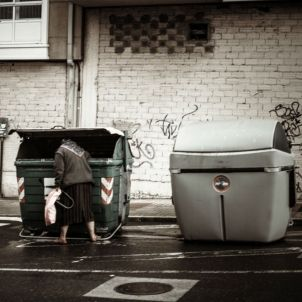 Menjar contenidors Dani Vr flickr