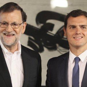 Mariano Rajoy Albert Rivera 1 efe