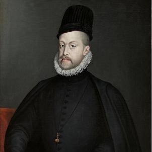 Neix Felip d'Habsburg, que intentaria castellanitzar l'Esglèsia catalana. Retrat obra de la pintora Sofonisba Anguissola (1573). Font Museu del Prado