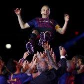 Andrés Iniesta comiat camp nou   EFE