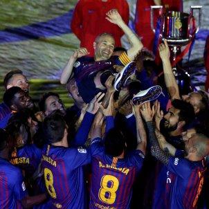 Andres Iniesta adeu Barça   EFE
