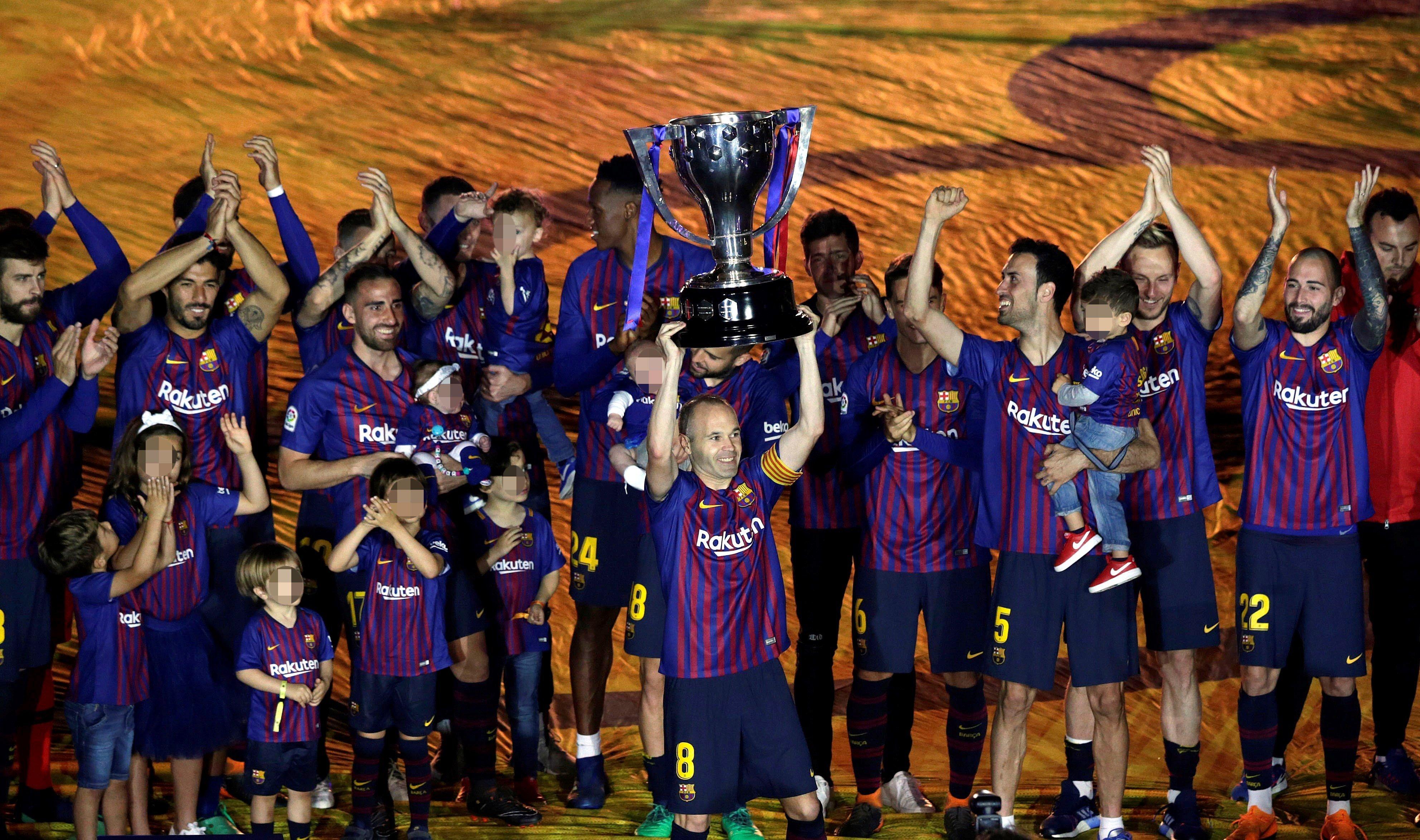 Andres Iniesta Lliga Barça   EFE