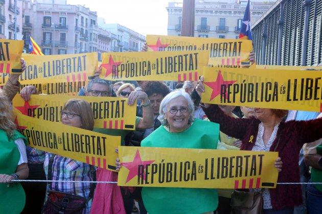 Manifestación contra 155 Barcelona ACN