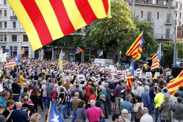 Manifestación contra 155 Girona ACN
