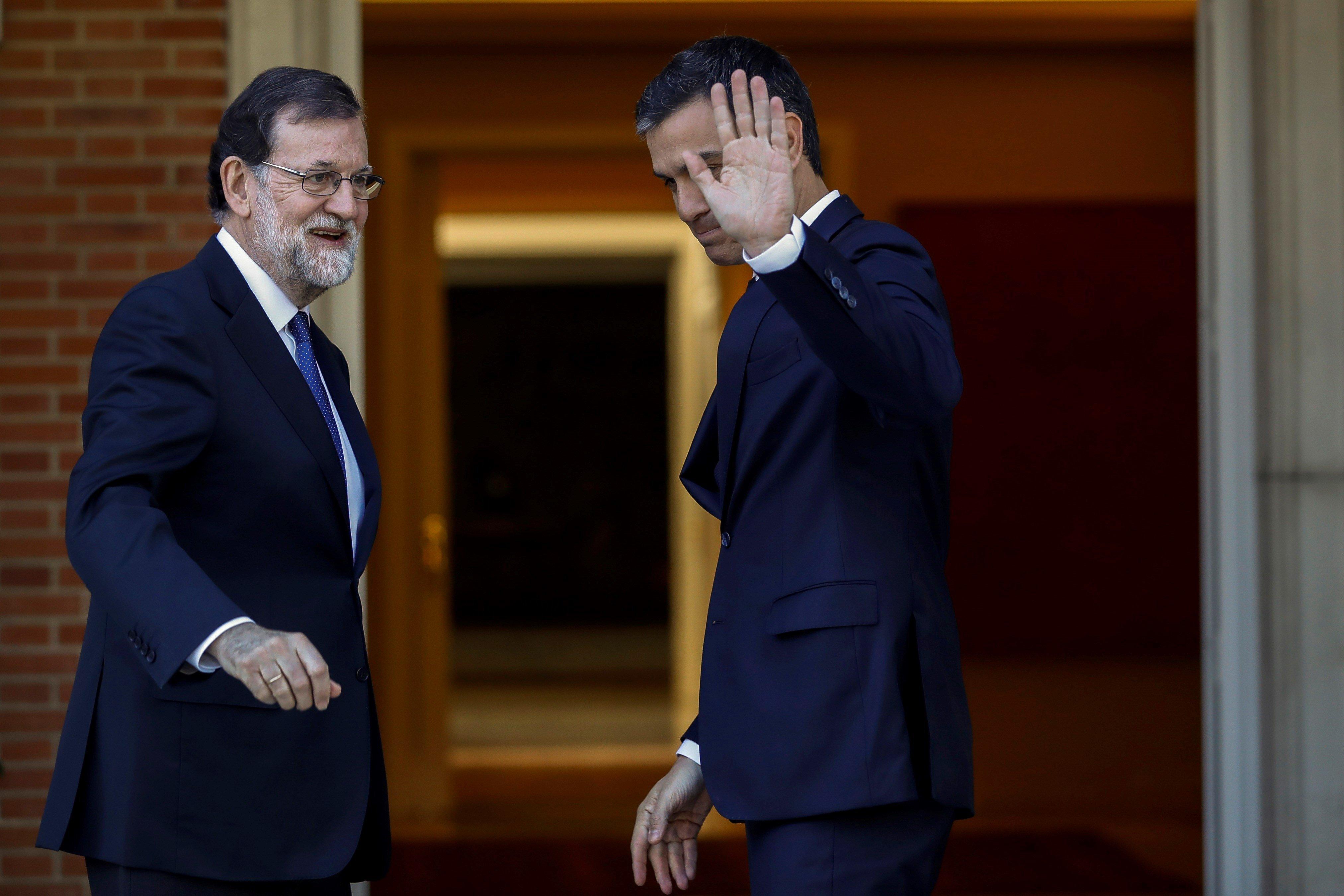 Rajoy i Sánchez efe