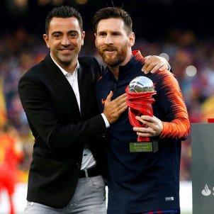 Xavi Messi Barça Efe