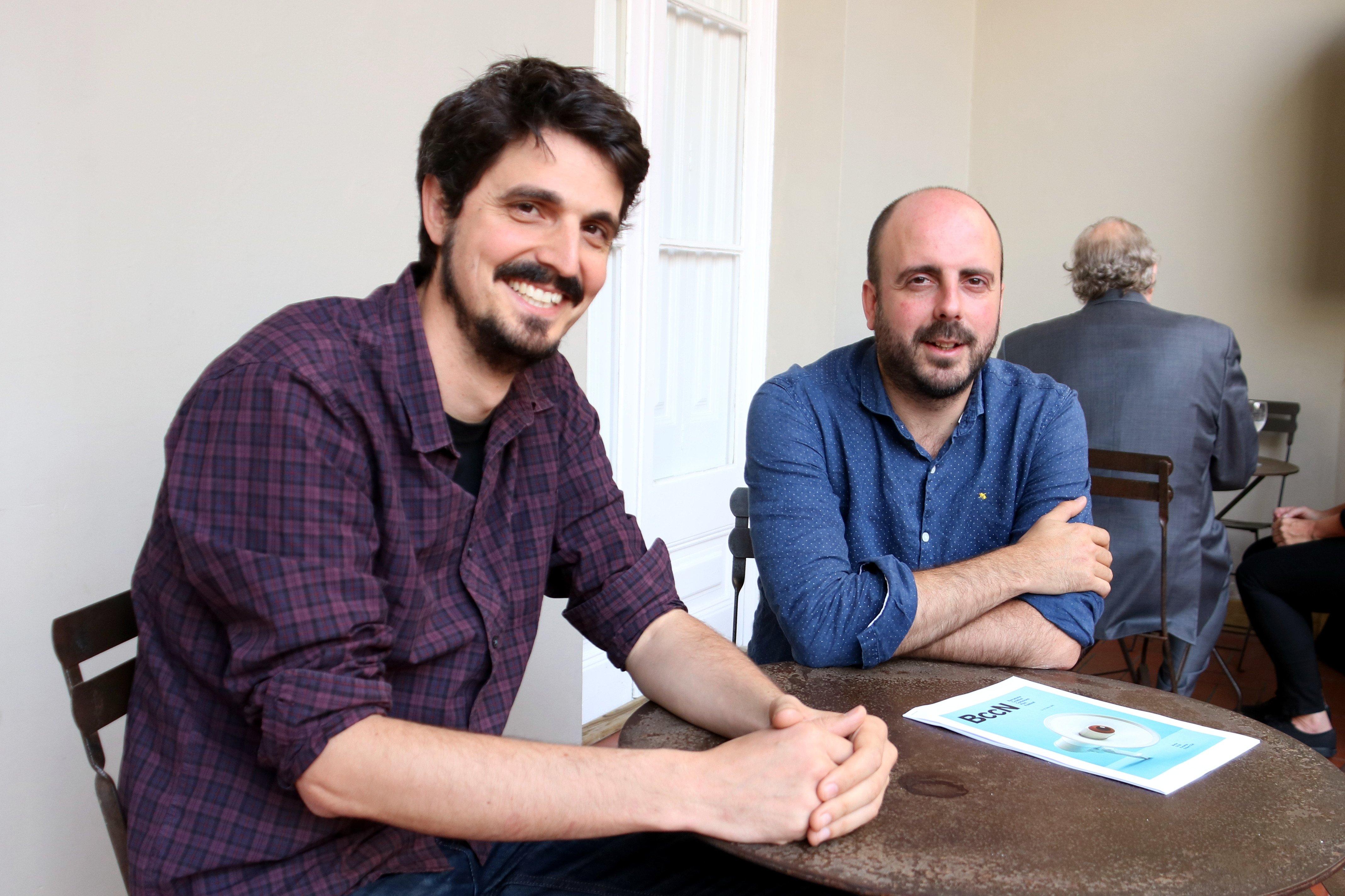 directors BccN Andreu Meixide i Fernando Paniagua acn