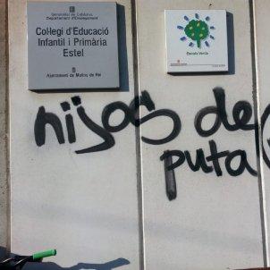 pintades feixistes twitter / @rogercasbosch