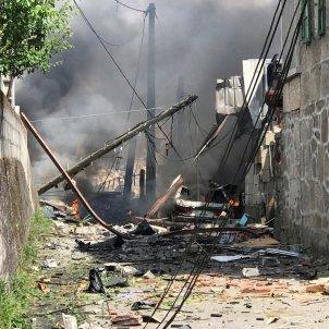 Explosió Tui (Pontevedra) - EFE