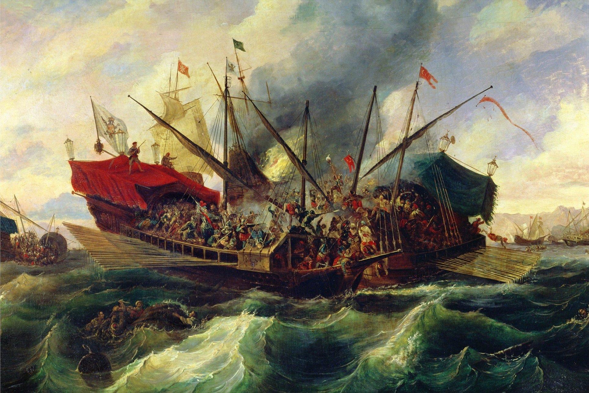 Batalla lepant antonio brugada wikimedia