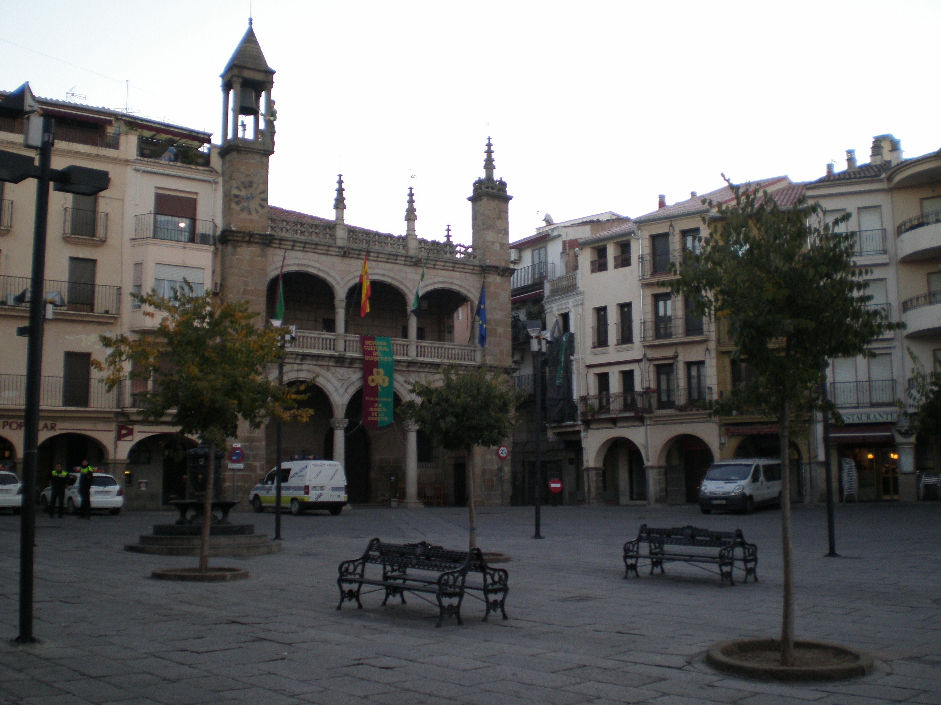 Plaza Mayor de Plasencia- wikimedia