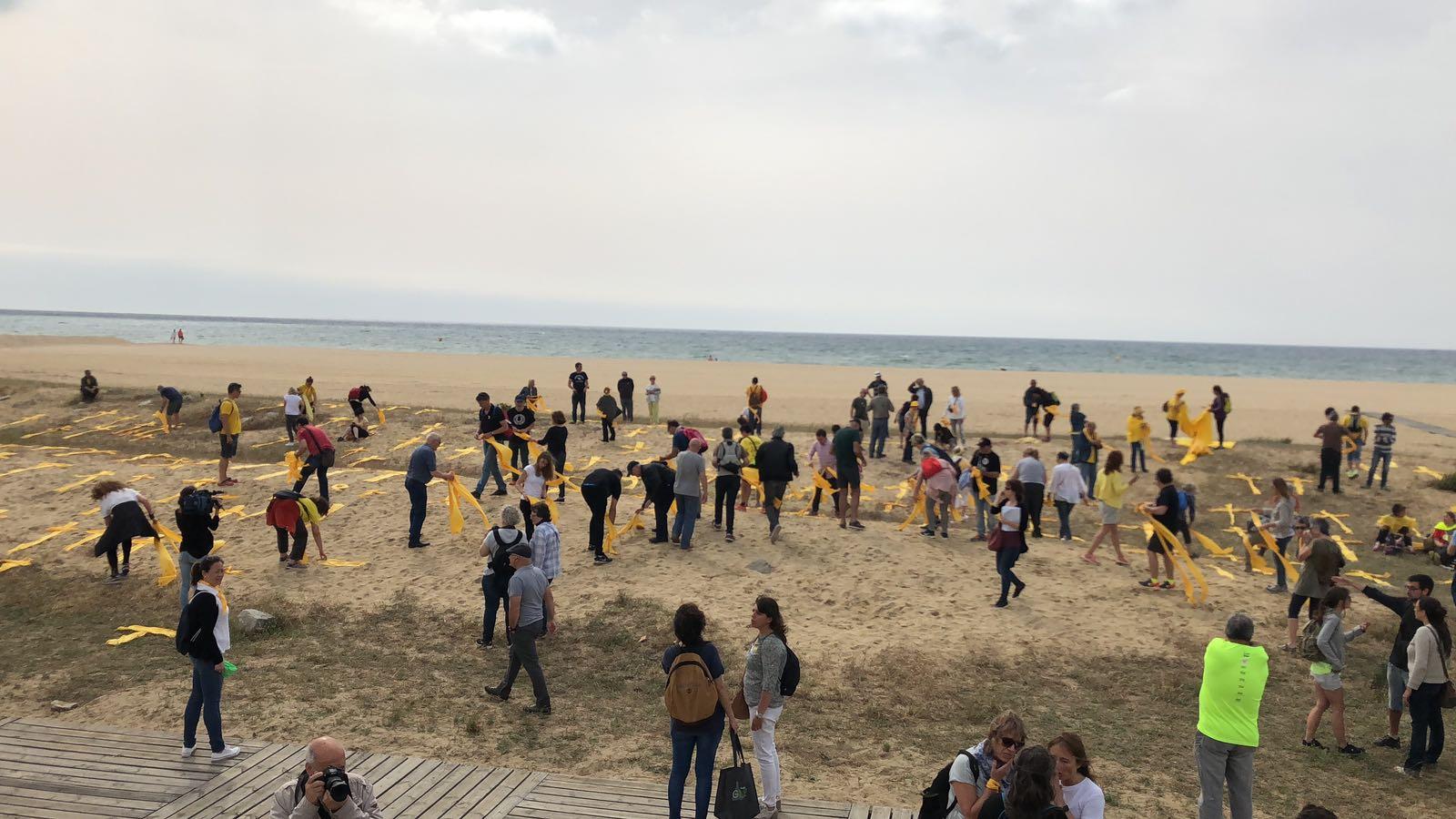 independentistes mataró retirada creus Nicolas Tomás