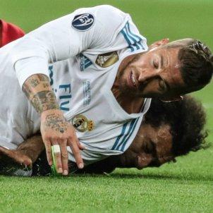 Ramos lesiona Salah Champions final EFE