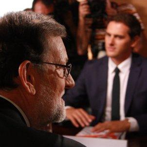 Mariano Rajoy Albert Rivera / ACN
