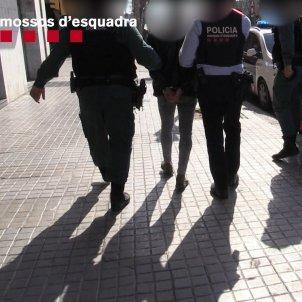 Dona segrestada Sants-Montjuïc / Mossos Esquadra