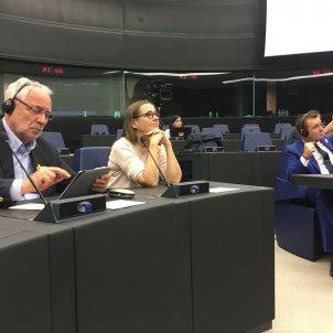 Eurodiputats acte presos polítics carlota camps