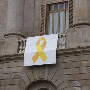 llaç groc ajuntament barcelona ACN
