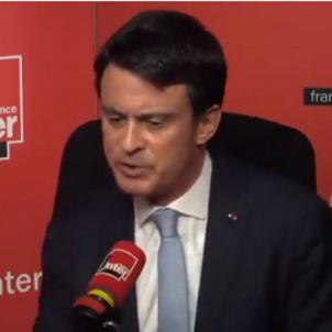 Manuel Valls France Inter