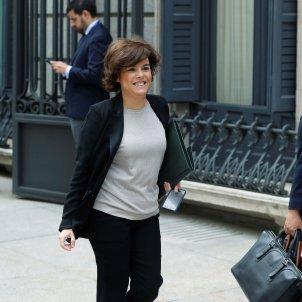 La vicepresidenta Soraya Sáenz de Santamaría / Efe